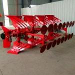 海宁牵引式多铧液压翻转犁 大型435栅条犁厂家