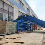 黄冈120吨卧式废纸打包机生产报价