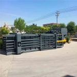 铁麒麟 卧式120吨废纸箱液压打包机哪里便宜