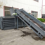 铁麒麟 小卧式80吨废纸箱液压打包机哪里价格便宜