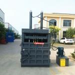 热销鲁丰80吨立式液压打包机塑料布打捆机耐用