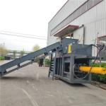 厂家热卖120吨废纸板卧式液压打包机价格