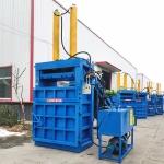生产立式液压打包机稻草秸秆打捆机厂家直销