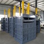 铁麒麟 80吨废纸壳立式液压打包机多少钱