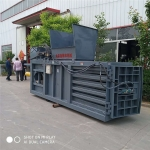 巴中120吨卧式废纸板液压打包机直销