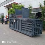 铁麒麟大型全自动废纸卧式液压打包机废品打捆机