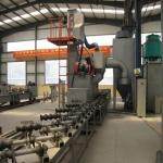 钢管外壁抛丸清理机、钢管除锈专用设备铁良机械供应