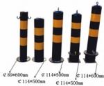 深圳防護樁寶安鋼管防撞柱廠家鹽田反光柱價格批發