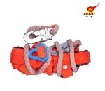 双保险安全带高空作业保险带双保险电工安全带二道保护绳安全带