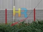 三角折弯护栏网 桃型柱护栏网品牌供应商 海嘉