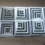 现货铝方管型材6063氧化喷涂扁铝通型材