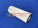 覆膜PTEF聚酯纤维万泽粉尘滤筒厂家价格