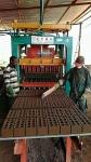 山东青州全自动液压砌块砖机