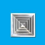 專業定制鋁合金風口 方形散流器 專業生產