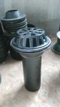 鑄鐵直排87型雨水斗dn100 側排雨水斗方形接水口