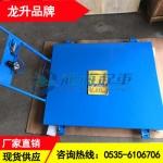 8吨气垫平板手推车价格 耗气量低的气垫搬运工具保质24个月