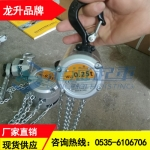 MACH-25型鋁合金手拉葫蘆現貨,電力工程用鋁制手拉葫蘆