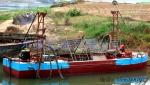 江西东威设计的新式大型抽沙运输船工作效率高效果好