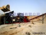 青州東威新型篩沙水洗一體機加工定制篩沙水洗設備