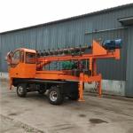 農村改建打樁機 地基打樁機 四輪蓋房地基打樁機