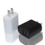 5V1A2.4A双USB手机适配器批发厂家