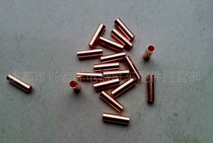 小铜管,铜小套管,接线铜管