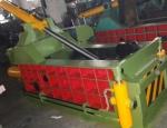 批發廢金屬八角包壓塊機,翻包金屬打塊機廠家