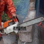 大理石切割混凝土切割SSQ汽油金刚石链锯