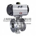 氣動V型球閥,型號,標準,品質,上海昆煉閥門