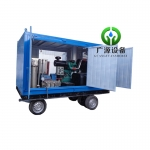 gyb-5 1200公斤压力化工厂换热器清洗机冷凝器清洗机反