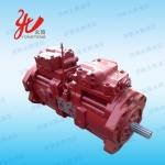 沃尔沃挖掘机油泵坏了找济南永腾液压维修厂