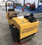 小座驾压路机多功能驾驶式压实机的工作视频
