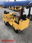 双钢轮柴油压路机小型驾驶式压实机的工作视频