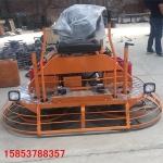 大型雙圓盤磨平機座駕式汽油收光機的操作流程