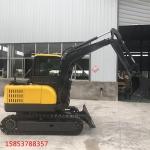 中小型柴油挖土機多功能履帶式挖溝機的操作規程