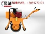 竞报价手扶式单钢轮振动压路机上市了