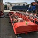 自动行走混凝土三辊轴 滚筒提浆摊铺机 219辊子水泥铺设机