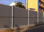 施工围挡PVC围挡 地铁围挡 临时道路隔离墙房地产施工临时广
