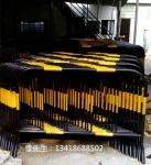 深圳坪山铁马护栏厂家直销 施工黄黑护栏 隔离栏