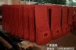 深圳蛇口水马 塑料护栏 施工防撞水马防撞桶