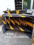 深圳建筑施工黄黑护栏 工地专业护栏 施工围栏厂家免费送货