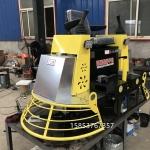 水泥地面双盘收光机全液压路面抛光机高效率收光作业