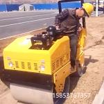 載人式雙輪壓路機小型柴油碾地機