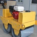 小型双轮碾地机手推柴油压实机功能配置