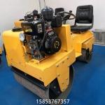 雙鋼輪回填土碾地機載人柴油壓實機優勢特點