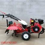 小型多功能耕地机手推柴油开沟机型号参数
