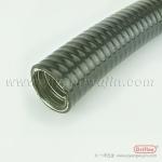 防水耐压金属平包管PVC包塑金属软管