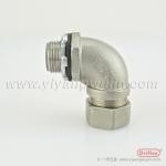供应金属软管接头不锈钢90度弯头