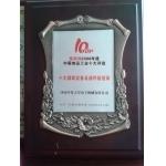 聪慧网2008年度中国食品工业十大评选