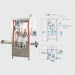奶粉灌装机成都同亨包装设备双螺杆灌装机 安全高效